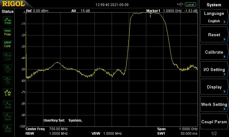 flightware ADS-B Dual 978 MHz + 1090 MHz Band-Pass SMA Filter
